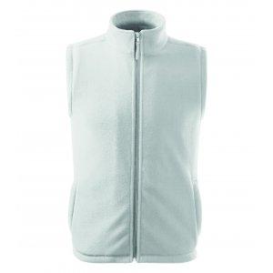 Pánská fleecová vesta RIMECK NEXT 518 BÍLÁ