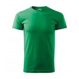 Pánské triko MALFINI BASIC 129 STŘEDNĚ ZELENÁ