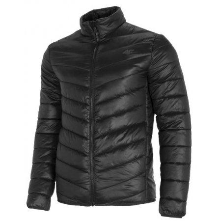 Pánská bunda 4F NOSD4-KUMP300 DEEP BLACK