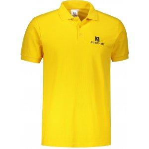 Pánské triko s límečkem ALTISPORT ALM008203 ŽLUTÁ