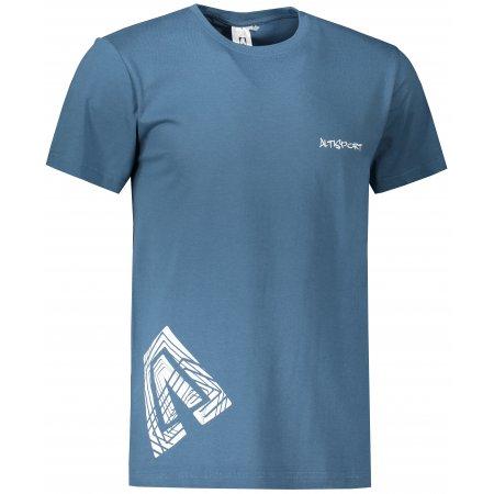 Pánské triko ALTISPORT ALM013129 DENIM
