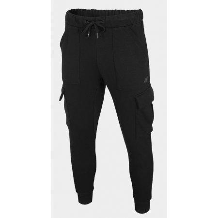 Pánské kalhoty 4F D4Z20-SPMD207 DEEP BLACK