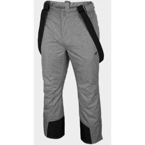 Pánské lyžařské kalhoty 4F D4Z20-SPMN350R GREY MELANGE