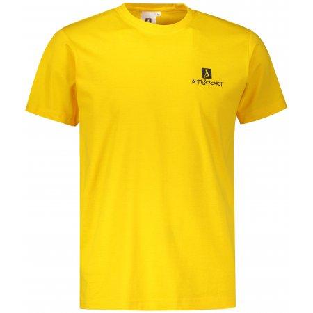 Pánské triko ALTISPORT ALM008129 ŽLUTÁ