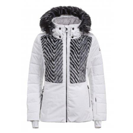 Dámská zimní bunda LUHTA ELLOLA OPTIC WHITE