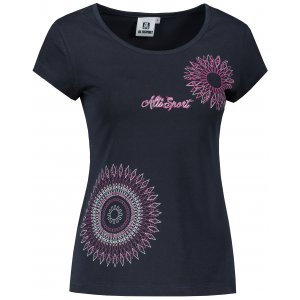 Dámské triko ALTISPORT ALW024122 MODRORŮŽOVÁ