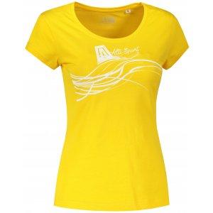 Dámské triko ALTISPORT ALW018F61 ŽLUTÁ