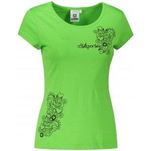 Dámské triko ALTISPORT ALW019122 APPLE GREEN