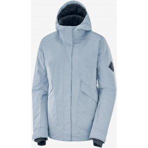 Dámská zimní bunda SALOMON SNOW REBEL JKT W  LC1383200 KENTUCKY BLUE/HEATHER