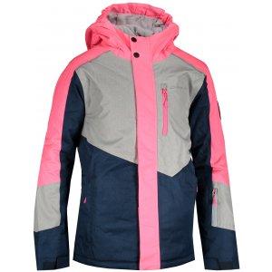 Dětská lyžařská bunda ALPINE PRO SARDARO 3 KJCS201 RŮŽOVÁ