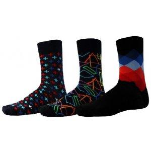 Ponožky SAM 73 LOWELL UP 132 BAREVNÁ