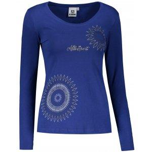 Dámské triko s dlouhým rukávem ALTISPORT ALW024169 KRÁLOVSKÁ MODRÁ