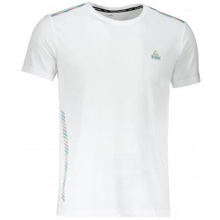 Pánské funkční triko PEAK ROUND NECK T SHIRT F601055 BÍLÁ