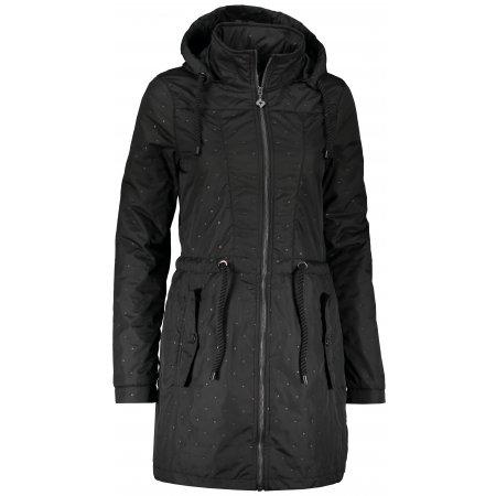Dámský kabát KIXMI KENYA ČERNÁ