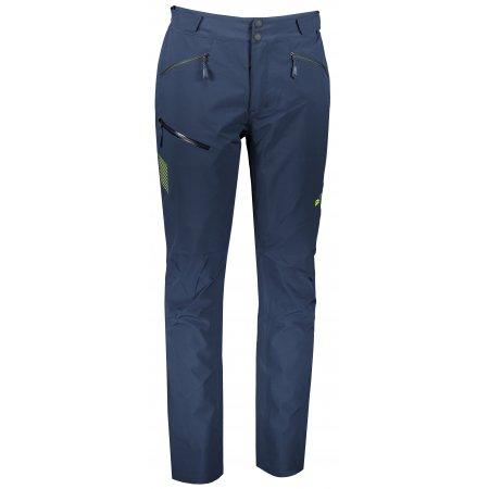 Pánské softshellové kalhoty ALPINE PRO OLWEN 4 MPAS460 TMAVĚ MODRÁ