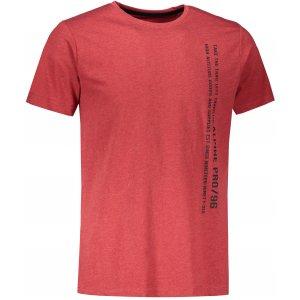 Pánské triko s krátkým rukávem ALPINE PRO BERTOL MTSS529 ČERVENÁ