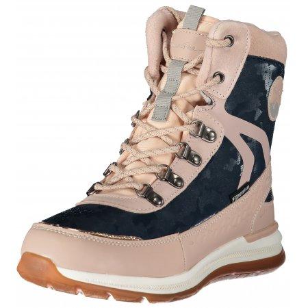 Dámské zimní boty ALPINE PRO LUNEDA LBTS280 SVĚTLE RŮŽOVÁ