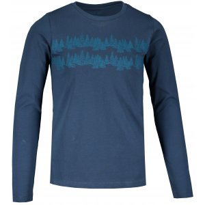 Dětské triko s dlouhým rukávem ALPINE PRO NEDEMO KTSS321 MODRÁ