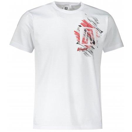 Pánské triko ALTISPORT ALM032129 BÍLÁ