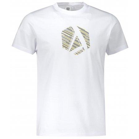 Pánské triko ALTISPORT ALM033129 BÍLÁ