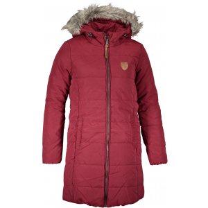 Dívčí zimní kabát SAM 73 SALLY GB 536 TMAVĚ ČERVENÁ