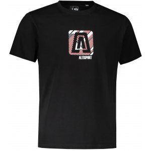 Pánské triko ALTISPORT ALM023F29 ČERNÁ