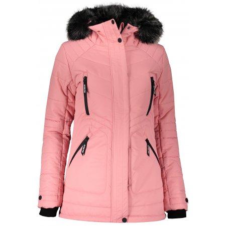 Dámská zimní bunda ALPINE PRO ICYBA 6 LJCS409 RŮŽOVÁ