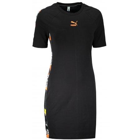 Dámské šaty PUMA CLASSICS TAPED DRESS BLACK