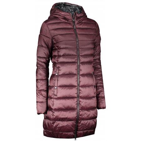 Dámský kabát SAM 73 ALEXANDRA WB 804 VÍNOVÁ