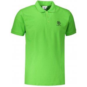 Pánské triko s límečkem ALTISPORT ALM031203 APPLE GREEN