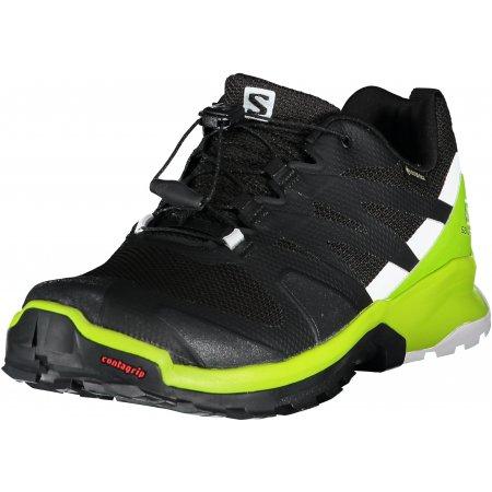 Pánské běžecké boty SALOMON XA ROGG GTX  L41121900 PHANTOM/LIME GREEN/WHITE
