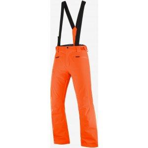 Pánské zimní kalhoty SALOMON STANCE PANT M  LC1397600 RED ORANGE