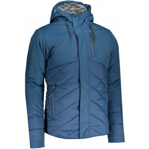 Pánská zimní bunda ALPINE PRO GABRIELL 4 MJCS433 MODRÁ