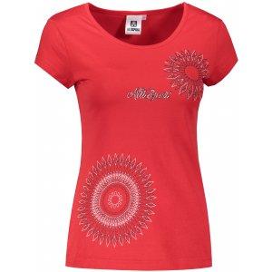 Dámské triko ALTISPORT ALW024122 ČERVENÁ