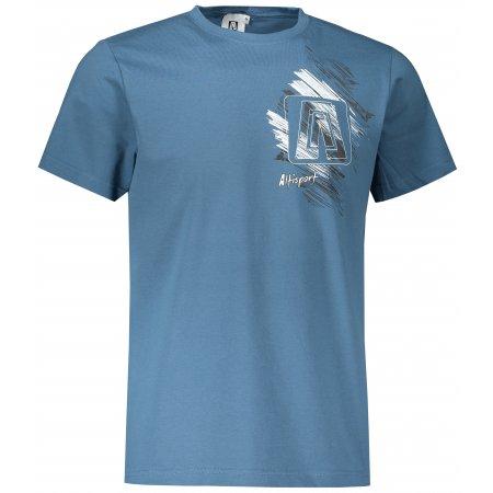 Pánské triko ALTISPORT ALM032129 DENIM