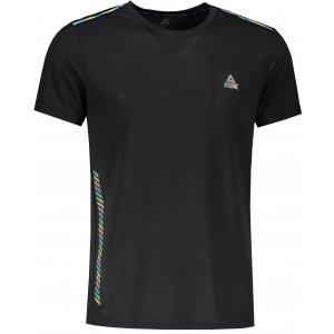 Pánské funkční triko PEAK ROUND NECK T SHIRT F601055 ČERNÁ