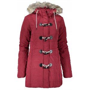 Dámský zimní kabát SAM 73 AMANDA WB 807 TMAVĚ ČERVENÁ