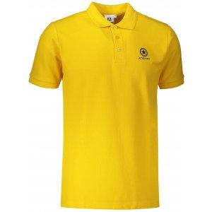 Pánské triko s límečkem ALTISPORT ALM031203 ŽLUTÁ