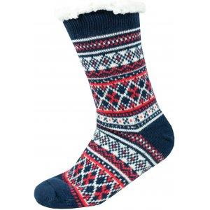 Ponožky ALPINE PRO SINNIR 3 USCS056 TMAVĚ MODRÁ
