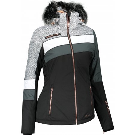 Dámská lyžařská bunda ALPINE PRO DORA 7 LJCS423 ČERNÁ