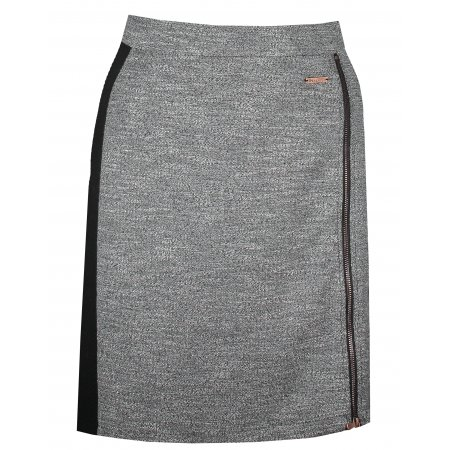 Dámská sukně KIXMI KERYN TMAVĚ ŠEDÁ