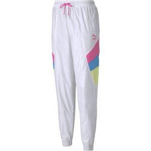 Dámské kalhoty PUMA TFS TRACK PANT WOVEN WHITE