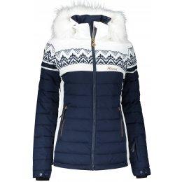 Dámská lyžařská bunda KIXMI KARRA TMAVĚ MODRÁ