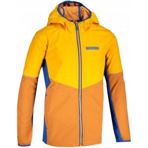 Chlapecká softshellová bunda ALPINE PRO NOOTKO 12 KJCS185 ŽLUTÁ