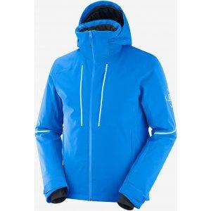 Pánská zimní bunda SALOMON EDGE JKT M  LC1396700 INDIGO BUNTING/WHITE