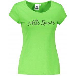 Dámské triko ALTISPORT ALW007122 APPLE GREEN