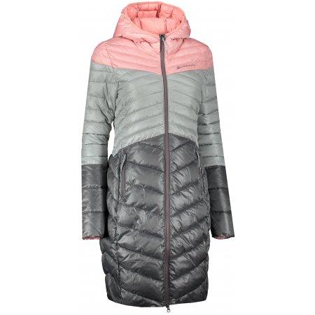 Dámský kabát ALPINE PRO LEVRA LCTS129 ŠEDÁ