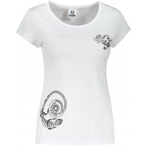 Dámské triko ALTISPORT ALW026122 BÍLÁ