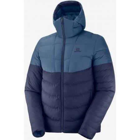 Pánská zimní bunda SALOMON SIGHT STORM HOODIE M LC1394500 NIGHT SKY/DARK DENIM