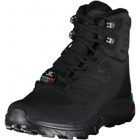 Pánské zimní boty SALOMON OUTblast TS CSWP L40922300 BLACK